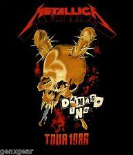 METALLICA cd cvr Damage Inc TOUR 1986 Official SHIRT MED New master of puppets