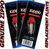 Genuine Zippo Replacement Flint 2406N 3 Packs 18 Flints FREE SHIPPING NEW