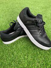 Men's Adidas Adicross V Core Black Spikeless Golf Shoes Trainers UK 8.5 US 9