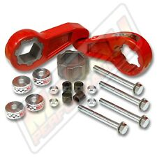 "2.5"" Front Torsion Bar Key Leveling Lift Kit Maxx Cam SMX-MC3 Chevy 2500 3500"