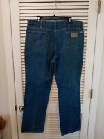 Wrangler Jeans Vintage USA made Tag Size 40x32 (Measures 39x31)