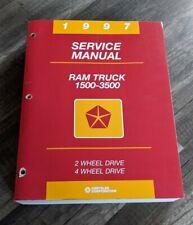 New Listing1997 Dodge Ram Truck 1500 - 3500 Service Manual