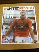 07/11/2004 Manchester United v Manchester City  . Thanks for viewing our item, i