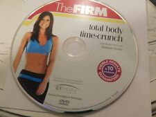 The Firm - Total Body Time-Crunch (DVD, 2007)Disc Only Free Shipping