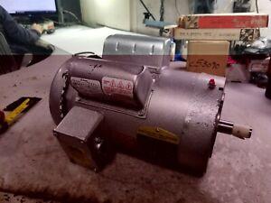 NEW BALDOR 1.5 HP ELECTRIC AC MOTOR 115/230 VAC 1725 RPM 145TCZ FRAME 1 PHASE