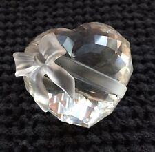 Swarovski Crystal Heart with Bow
