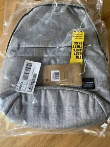 Pacsafe Slingsafe LX300-Tweed Anti-theft Backpack w/ 600D High Density Polyester