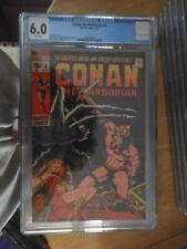 conan the barbarain 4 cgc 6.0.rare non distributed in the uk
