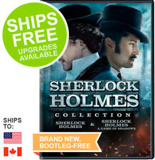 Sherlock Holmes Double Feature Collection, Game of Shadows DVD, Robert Downey