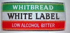 Whitbread White Label Bitter Beer Bar Towel