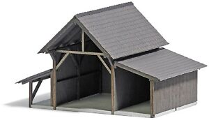 HO Scale Buildings - 1382 - Hay Shed - Kit