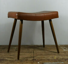 Exklusiver Hocker Sitzhocker Stuhl Design Mid Century 50s 60s Retro Vintage