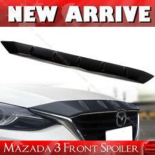 """SHIP FROM LA Glossy Mazda 3 3rd Maxx Sedan Wagon Front Hood Bonnet Fin Spoiler"
