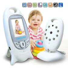 New2.4GHz WIRELESS DIGITAL VIDEO BABY MONITOR COLOR LCD AUDIO TALK NIGHT VISION