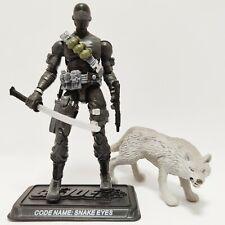 New listing Gi Joe Snake Eyes 25th Anniversary Figure White Timber Complete C9+ v29 2007