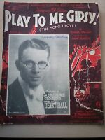 PLAY TO ME, GIPSY (THE SONG i LOVE) VACEK & KENNEDY - HENRY HALL &  BBC DANCE