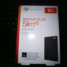 Seagate Backup Plus Slim STHN2000400 (NEW MODEL)  2 TB HD - External - Portable