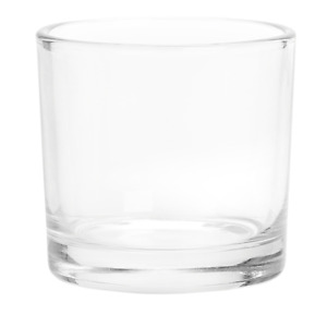 Glass Candle Votives for Candlemaking 7cm Diameter 6cm High