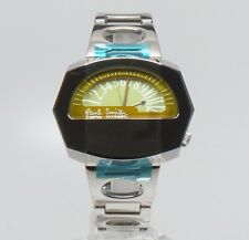 Paul Smith RARE Vintage Yellow Speedometer Half Dial Watch