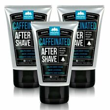 Pacific Shaving Company Caffeinated Aftershave - Made in USA, 3 oz. (3-Pack)