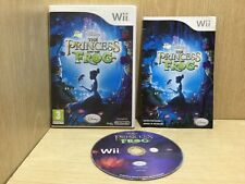 Disney The Princess and the Frog Nintendo Wii Game Boxed with Manual