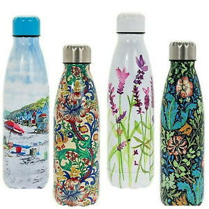 Stainless Steel Insulated Water Hot/Cold Drink Bottle Vacuum Flask Fab Pattern