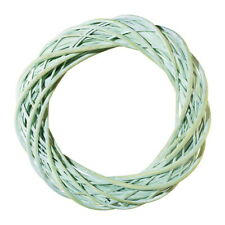 Rattan Wreath, Lime Green Washed, 40cm, Shabby, Wooden Wreath!!!