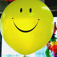 Yellow Smile Face Large Balloons Giant Balloon Party Balloon 36 inches