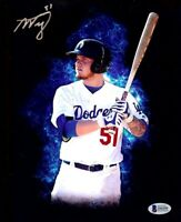Alex Verdugo Signed Autographed 8X10 Photo Los Angeles Dodgers Prospect Beckett