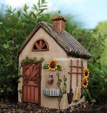 Miniature Fairy Shed  Workshop w hinged door WS 536  Fairy Garden Dollhouse