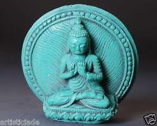 Tibetan Buddhist Buddha Tsatsa Statue! Worship Ritual Blessing Auspicious Amulet