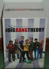 THE BIG BANG THEORY 1-9 TEMPORADAS COMPLETAS 29 DVD PRECINTADO NUEVO (SIN ABRIR)