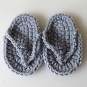 Newborn Baby photography props mini Crochet Flip-Flops Infant Slippers Eag