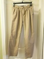 The Childrens Place Boys Size 14 Tan Brown Khaki Pants 4 Pockets