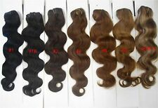 """Alexxis 18"""" Clip in 100% Human Hair Extensions, 10pcs, 100g,  Wavy, Many Colors"""