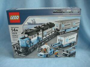 Lego Exklusiv Set 10219 Maersk Zug Train Güterzug Neu + original verpackt