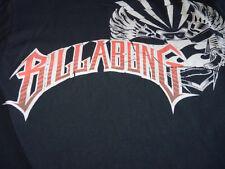 Billabong - Black Graphic Logo - T Shirt (M) Billabong