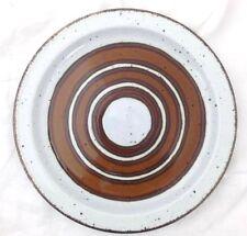 "Dinner Plate 10 5/8"" Midwinter Stonehenge Earth Wedgwood England Brown"