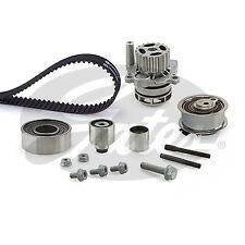 Gates Powergrip Timing Belt & Water Pump Kit Audi A4 2.0 Allroad TDI B8 (8K)