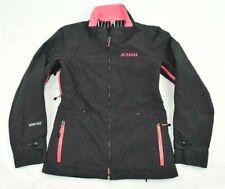KLIM Black Pink Snowmobile Jacket Coat Women's Size Small Gortex