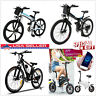 250W Ancheer Electric Mountain Bike Bicycle Lithium-Ion Battery Shimano 21 Speed