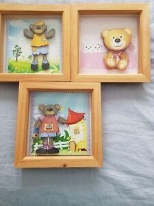 DECOUPAGE Nursery teddy bear pictures