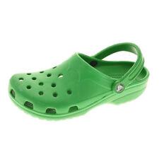 Sandali e scarpe verde in gomma per il mare da uomo