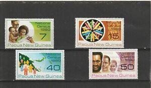 Papua New Guinea 1980 National Census Set Fine MNH