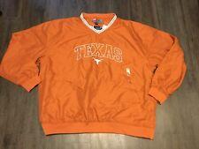 Nwt Men's College Football Texas Longhorns Pull-over Windbreaker Jacket Xl Gift