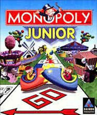 Monopoly Junior  Jr. version of the world's most popular game + 8 mini games NEW