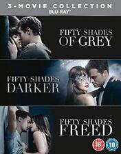 FIFTY SHADES OF GREY / DARKER / FREED 3 MOVIES (BLU RAY BOX) NEW SEALED