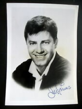 "PRINTED SIGNED JERRY LEWIS BLACK & WHITE PHOTO, 5"" X 7"""