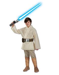 Star Wars Kids Luke Skywalker Costume Style 2, L Age 8-10 Height 142-152 cm