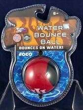 NEW! Indiana Hoosiers - Water Bounce Ball - Foco Brand - 2-1/4""